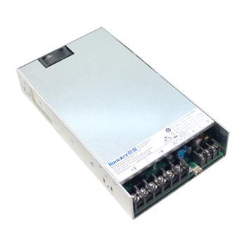 600W单路输出12V/24V工业电源
